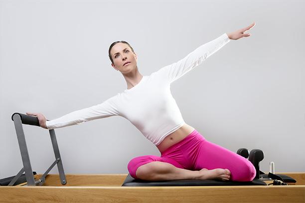 postura de pilates